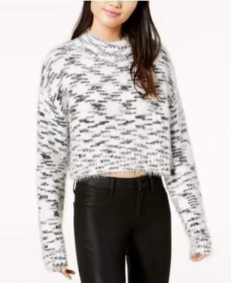 TWIIN Printed Cropped Sweater