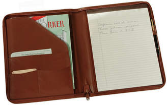 Royce Leather Royce Executive Zippered Writing Portfolio Organizer in Genuine Leather