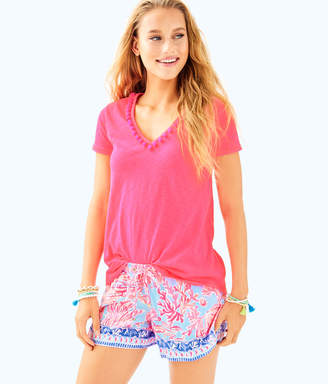 Lilly Pulitzer Womens Etta Top