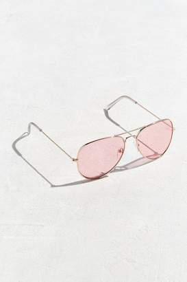 Urban Outfitters Pink Top Gun Aviator Sunglasses