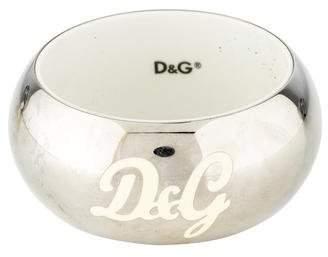 Dolce & Gabbana Logo Mirror Dome Bangle