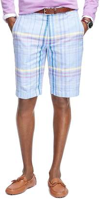 Brooks Brothers (ブルックス ブラザーズ) - ★オンライン限定OUTLET★リネン/コットン マルチウィンドペイン 11inバミューダショーツ