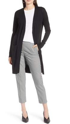 Halogen Open Front Pocket Cardigan