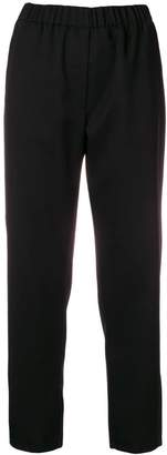 Forte Forte elasticated waist cropped trousers