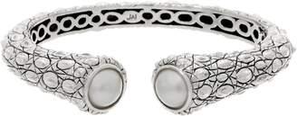 Croco Jai JAI Sterling Silver Cultured Pearl Cuff