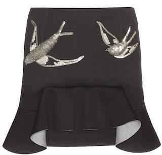 Marni Embellished neoprene miniskirt