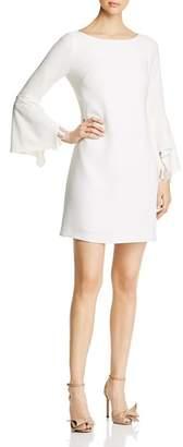 Elie Tahari Dori Flutter Sleeve Dress
