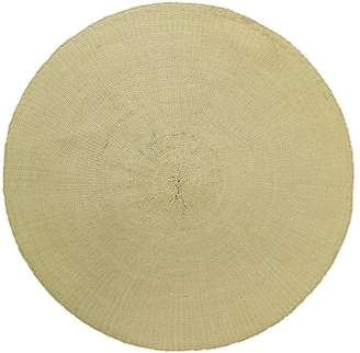 L&M Home Straw Placemat, Sand (Set of 4)