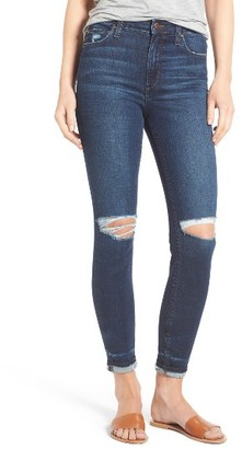 Women's Joe's Flawless - Charlie Markie High Rise Crop Skinny Jeans $165 thestylecure.com