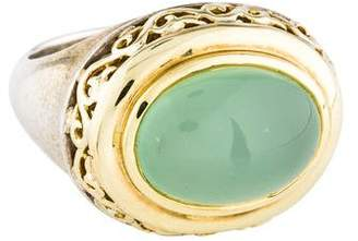 Charles Krypell Chalcedony Cocktail Ring