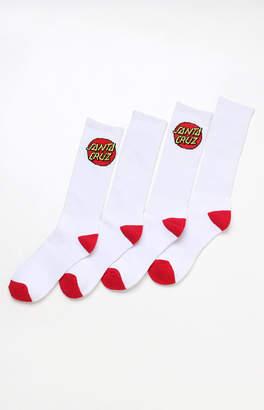 Santa Cruz Cruz 2 Pack Crew Socks