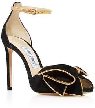 Jimmy Choo Women's Karlotta 100 High-Heel Sandals