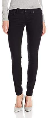 Guess Women's Power Skinny Jean Black Silicone Rinse $79 thestylecure.com