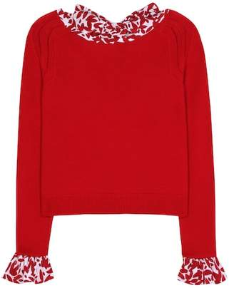 Oscar de la Renta Wool sweater