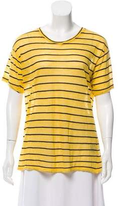 Etoile Isabel Marant Striped Linen Top