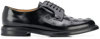 Church's Shannon flower lace-up shoes