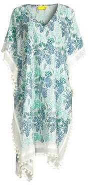 Roller Rabbit Thao Asia Floral Print Caftan