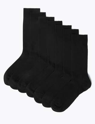 Fresh Feet M&S CollectionMarks and Spencer 7 Pack Cool & Freshfeet Cotton Rich Socks