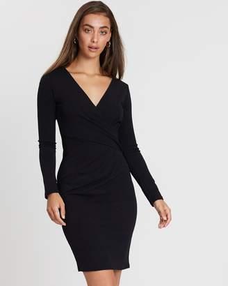 Dorothy Perkins Wrap Top Bodycon Dress