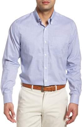 Cutter & Buck Tattersall Tailored Fit Non-Iron Sport Shirt