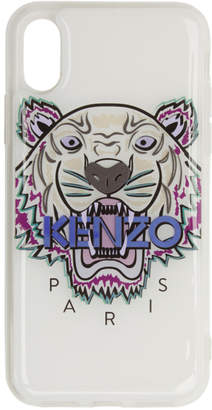 Kenzo White Tiger iPhone X/XS Case