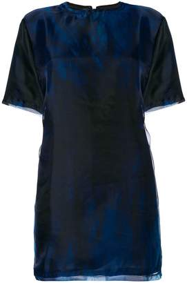 Neil Barrett graphic print tunic top