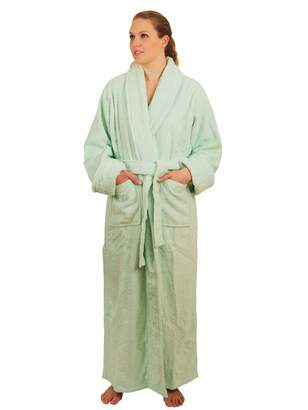 5ba8bae25b at Amazon Canada · NDK New York Full Length Terry Cloth Bathrobe for Men  and Women 100% Cotton