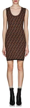 Fendi Women's Zucca Knit Body-Con Dress