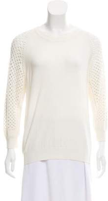 Marc by Marc Jacobs Perforated Knit Sweater