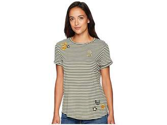 Lauren Ralph Lauren Embellished Jersey T-Shirt