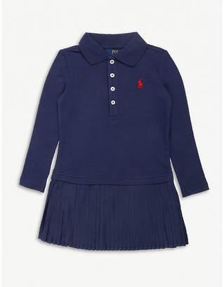 Ralph Lauren Pleated cotton polo dress 2-6 years
