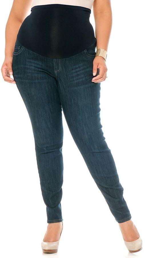 Oh Baby by motherhood TM secret fit belly skinny jeans - maternity plus