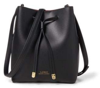 Ralph Lauren Debby Ii Drawstring Bag Black/Crimson One Size