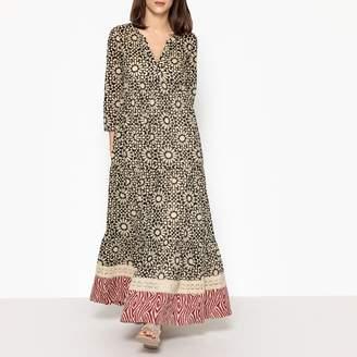 Stella Forest Mix Print Maxi Dress