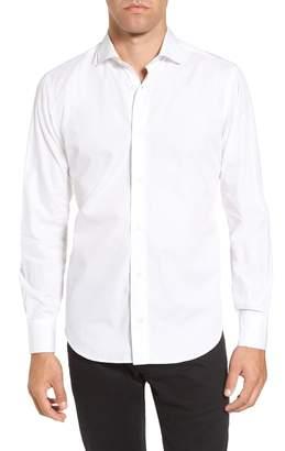 Eleventy Trim Fit Sport Shirt