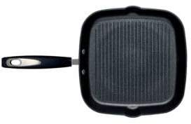 Ballarini Taormina Induction Open Non-Stick Ribbed Grill Pan, 11in.