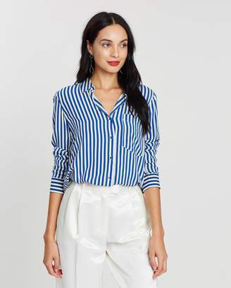 Mng Pocket Flowy Shirt