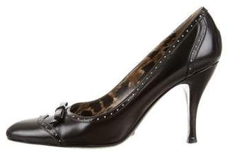 Dolce & Gabbana Leather Brogue Pumps