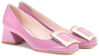 Roger Vivier Purple Tres Vivier patent-leather pumps