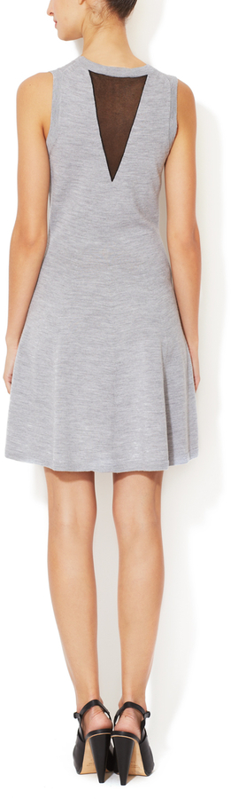 3.1 Phillip Lim Merino Wool A-Line Dress