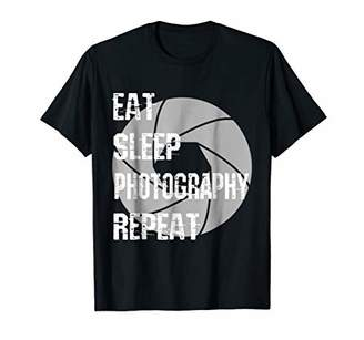 Eat Sleep Photography Repeat Photographer Gift T Shirt