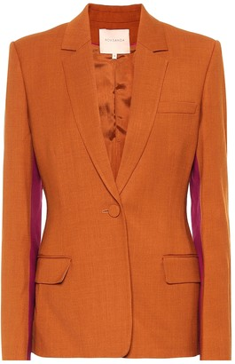 Roksanda Loa wool-blend blazer
