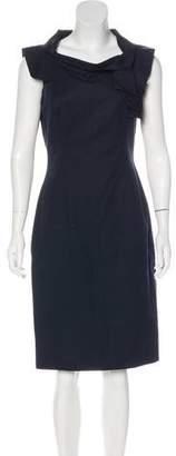 Charles Chang-Lima Sleeveless Midi Sheath Dress