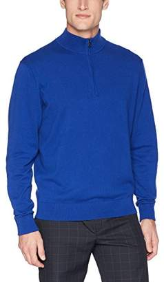 Cutter & Buck Men's Machine Washable Lakemont Half-Zip Sweater