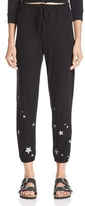 Chaser Foil Star Sweatpants
