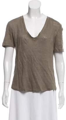 A.L.C. V-Neck Short-Sleeve T-Shirt