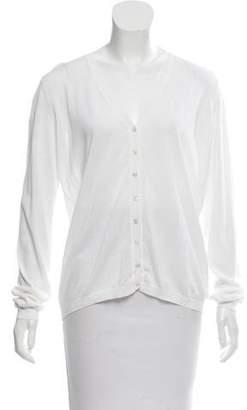 Malo Knit Semi-Sheer Cardigan