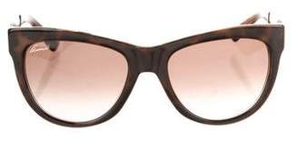 057588666bd Pre-Owned at TheRealReal · Gucci Tortoiseshell Cat-Eye Sunglasses