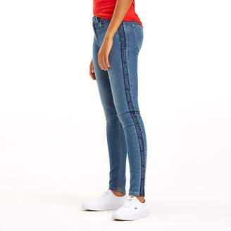 5b479396 Tommy Hilfiger Blue Skinny Jeans For Women - ShopStyle UK