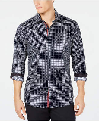 Ryan Seacrest Distinction Men's Woven Geometric Shirt, Created for Macy's